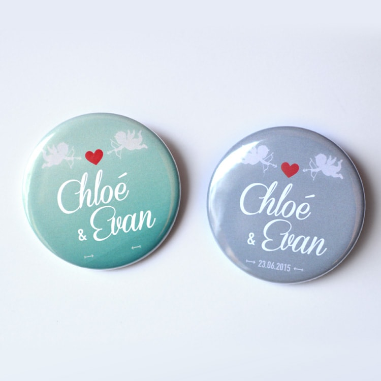 Magnet aimant mariage anges