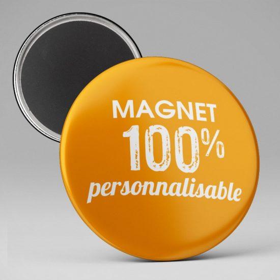 Magnet aimant personnalisable, texte et image
