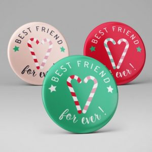 Badge best friend forever