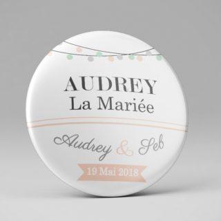 Mariage / Marque place original / Guirlande