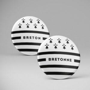 Badge pins / Breton bretonne