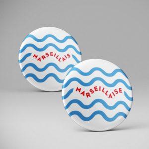 Badge pins / Marseillais / Marseillaise / Marseille