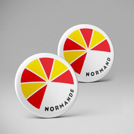 Badge pins / Normand Normande